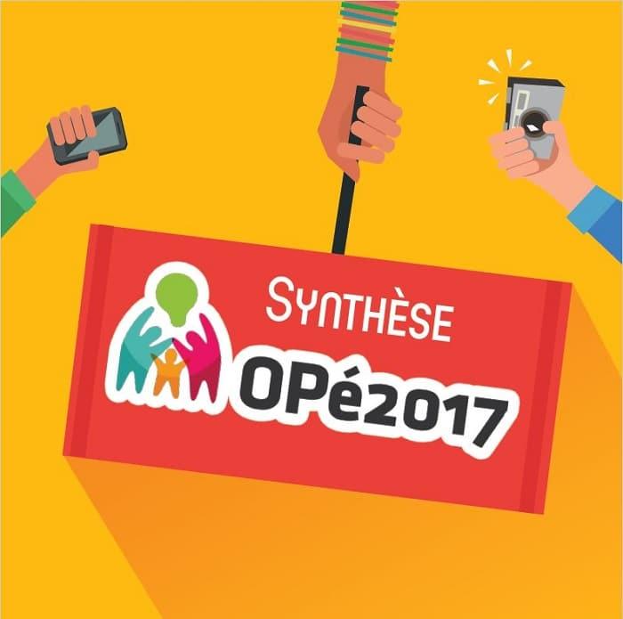 Le grand débat public est ouvert : Opé2017 !
