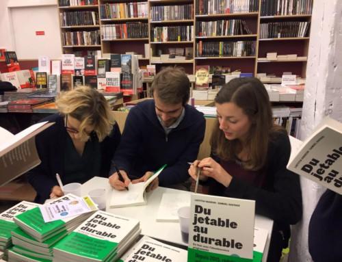 Lancement du livre – «Du jetable au durable»