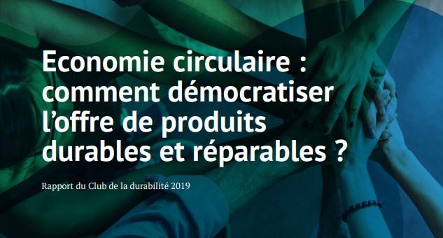 Rapport inédit sur l'accessibilité des produits ou services durables