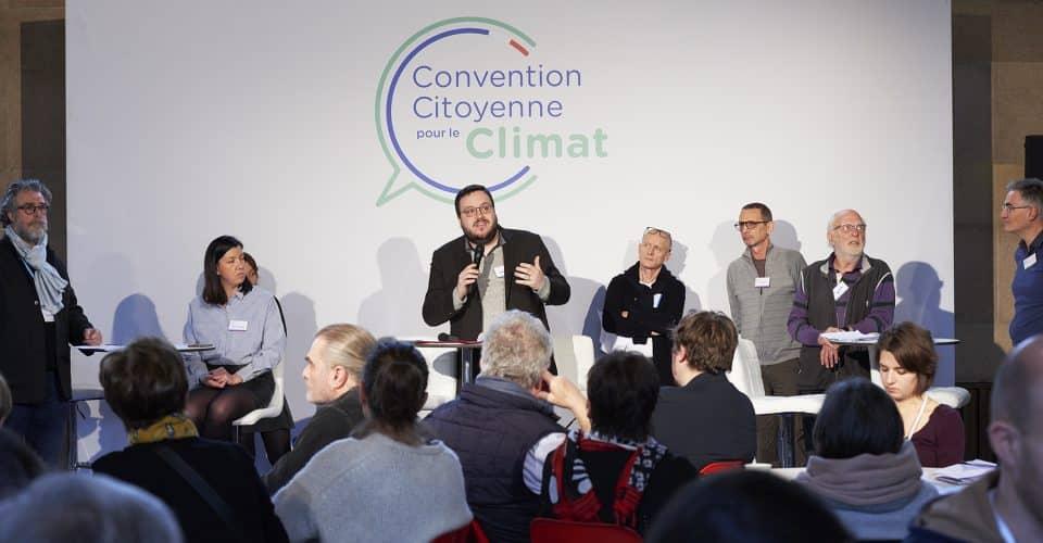La convention citoyenne pour le climat s'engage pour des produits durables et réparables