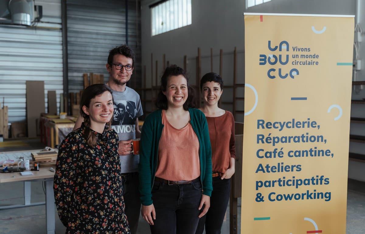 L'association HOP participe à La Boucle, tiers-lieu dédié à la réparation et au réemploi en Gironde